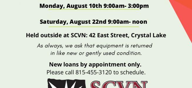 Medical Equipment Loan Closet